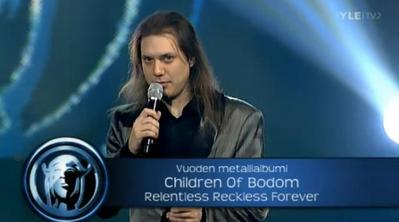 Children Of Bodom получили награду Emma