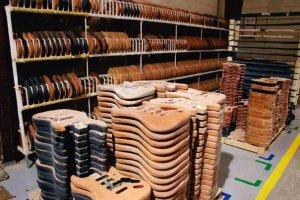 Какие породы древесины используются при изготовлении гитар